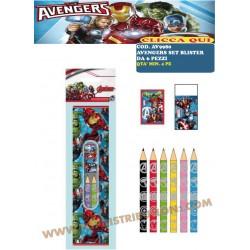 --AV9980 SET BLISTER DA 6...