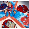 --406SMN01NEpisolon letto gonfiabile Spider-Man Junior ReadyBed • Letto gonfiabile e sacco a pelo 2 in 1 di ReadyBed• Con il cu