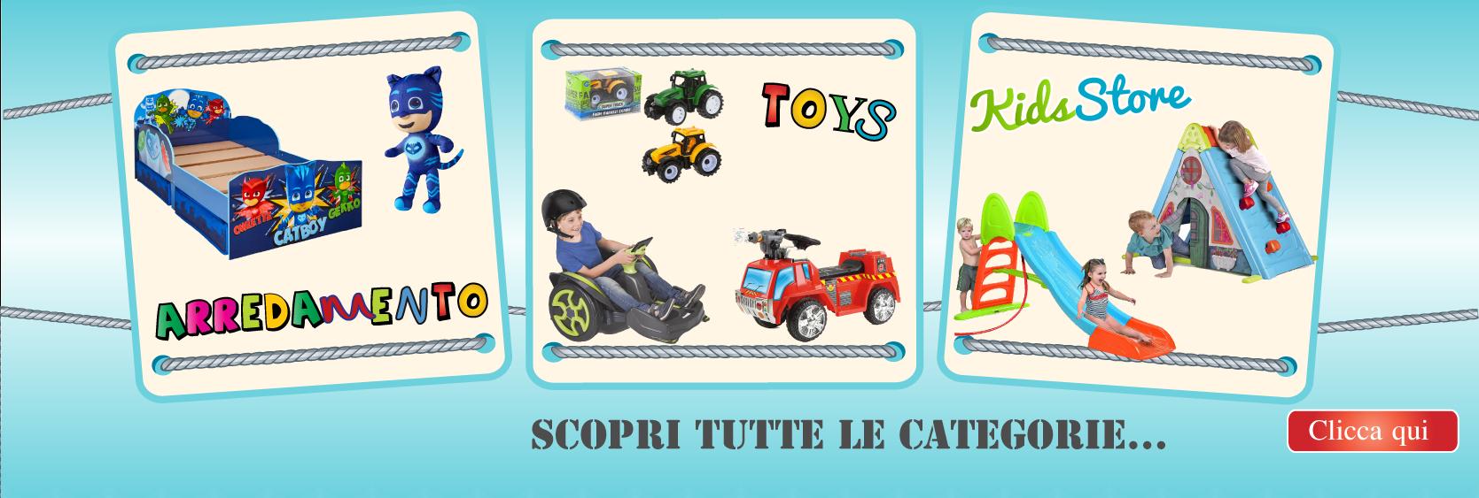 giocattoli e giochi